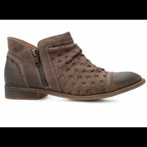 Musse & Cloud Brown Leather Slouchy Cynthia Boot
